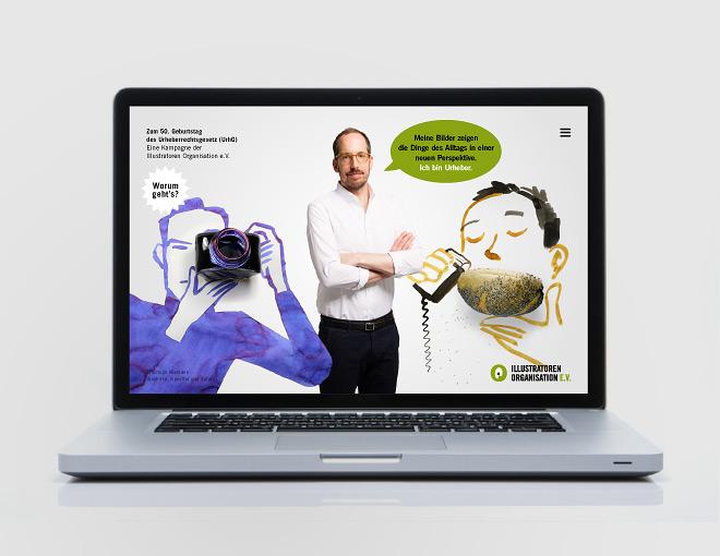 IO-Kampagne »50 Jahre Urheberrecht«
