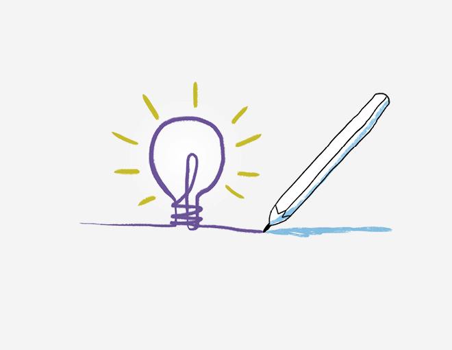 Ideen visualisieren • Jeder kann scribbeln